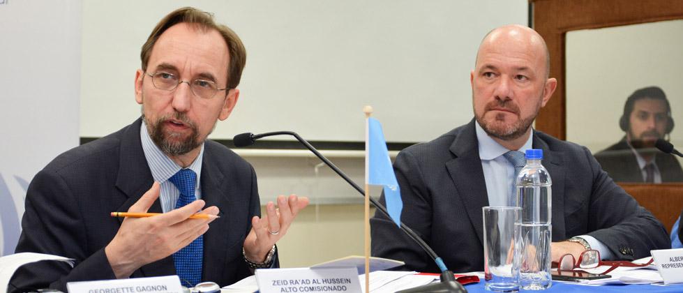 Declaraciones del Alto Comisionado de las Naciones Unidas para los Derechos Humanos  Zeid Ra'ad Al Hussein al final de su misión en El Salvador