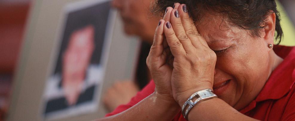 Las familias nunca pierden la esperanza en la búsqueda de sus migrantes desaparecidos