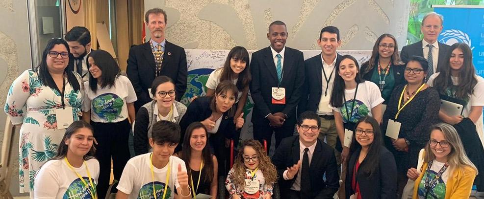 Expertos en Derechos Humanos de la ONU llaman a tener soluciones climáticas lideradas por jóvenes